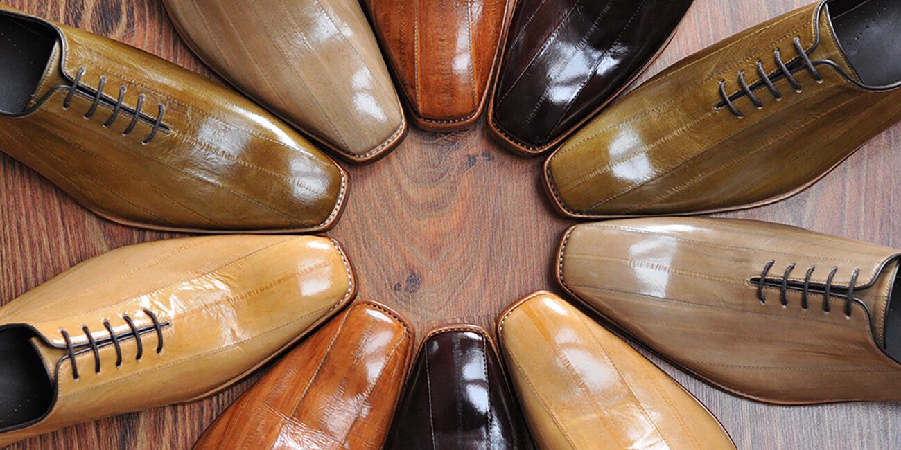 Eel shoes