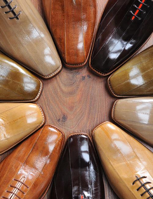 27. Eel shoes