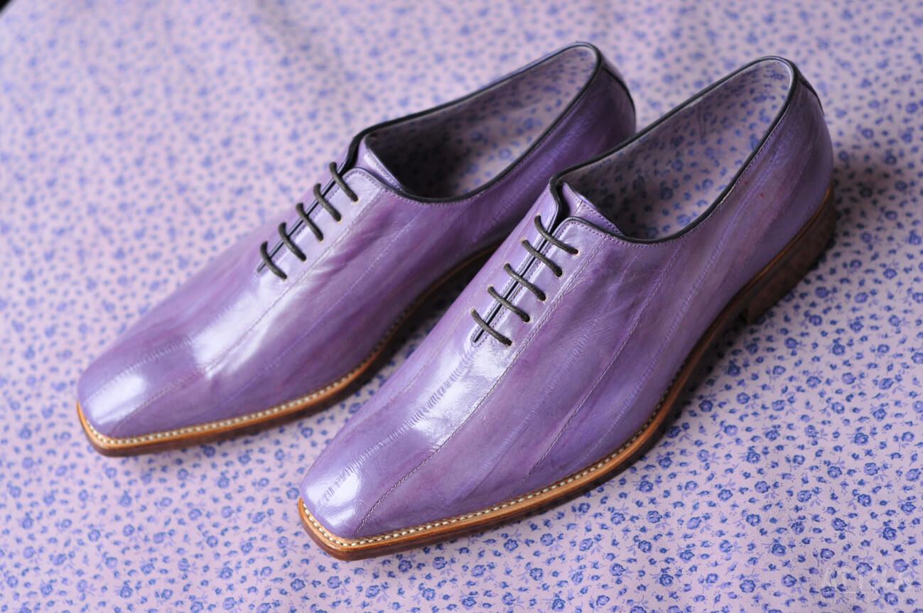 Purple Eel shoes