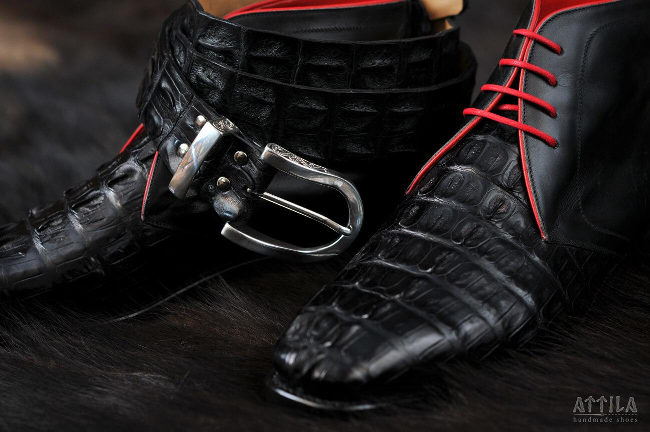 2. Cayman Crocodile boots