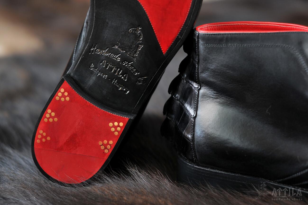 3. Cayman crocodile boots