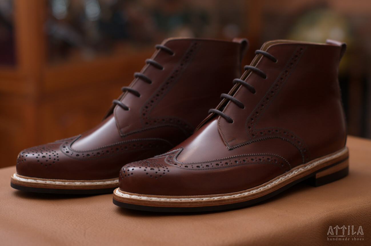10. Derby Full Brogue boots