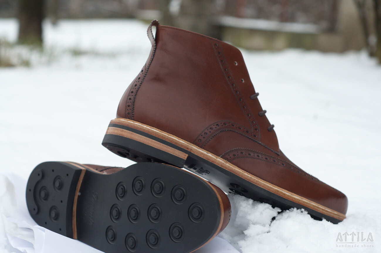 11. Derby Full Brogue boots