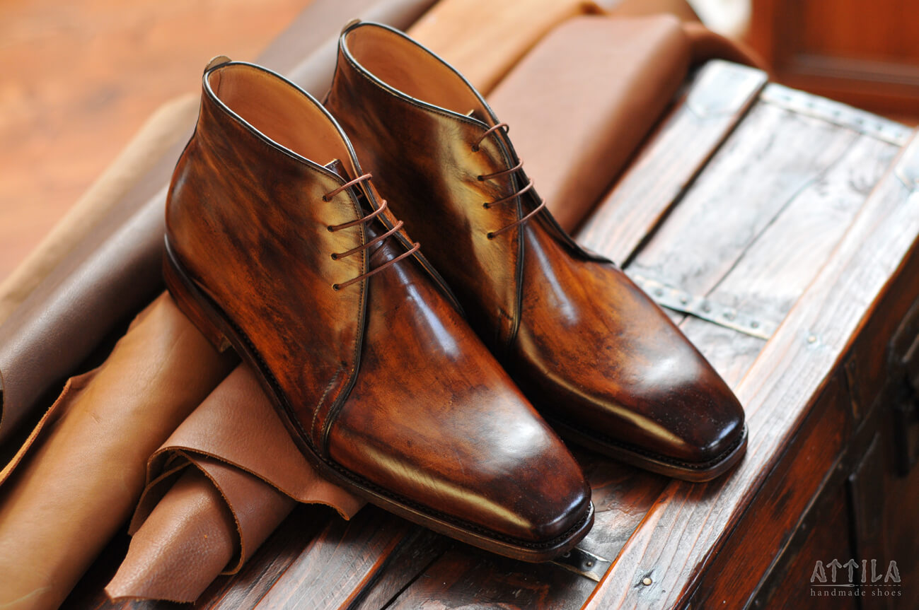 Boots_Derby antique patina 20