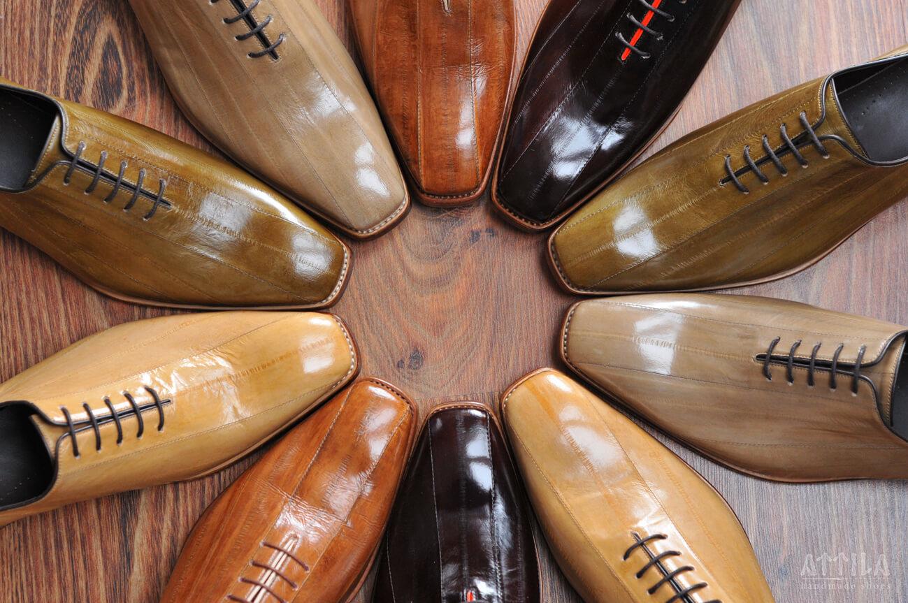 28. Eel shoes
