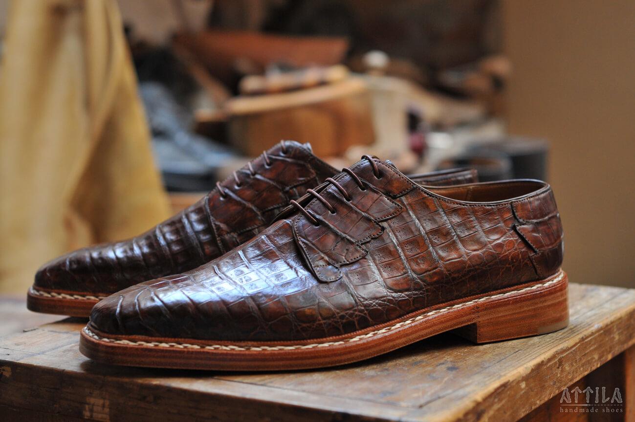 6. Crocodile shoes