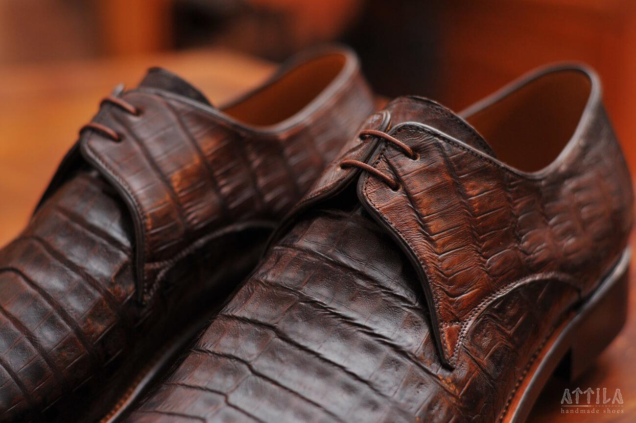 7. Crocodile shoes