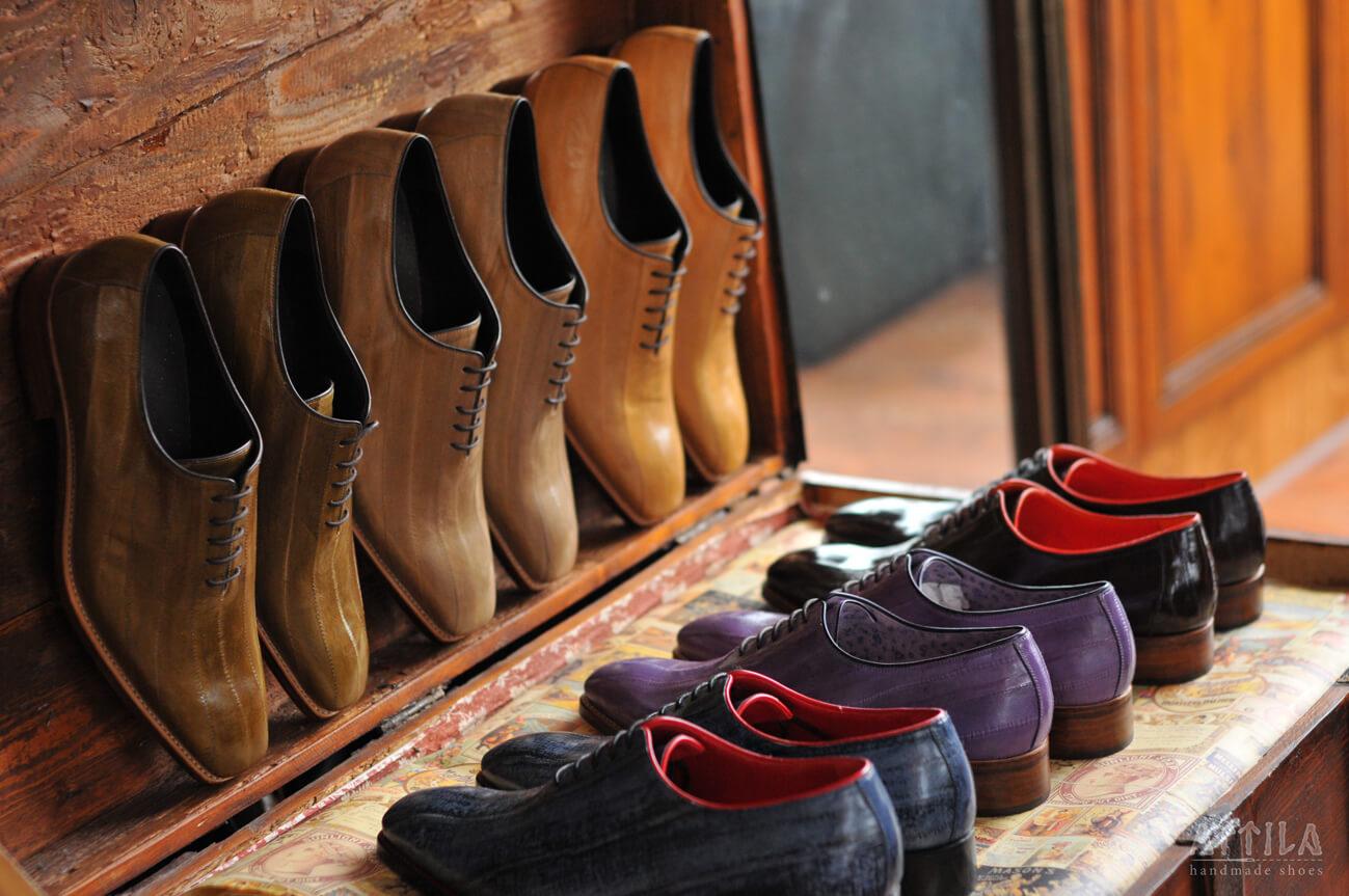 16. Goodyear eel shoes