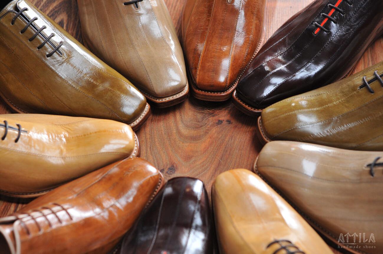 14. Goodyear eel shoes