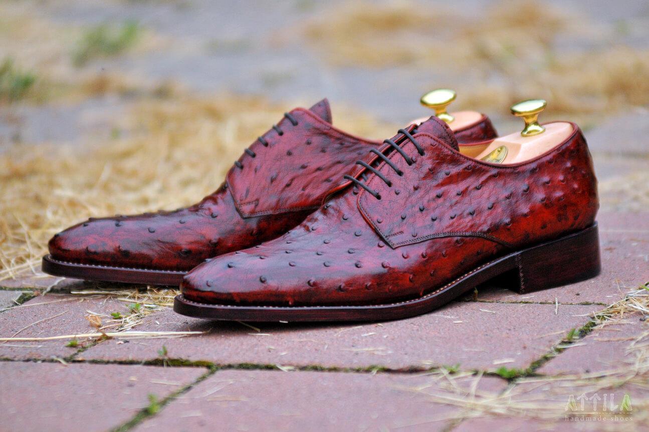 21. Ostrich shoes