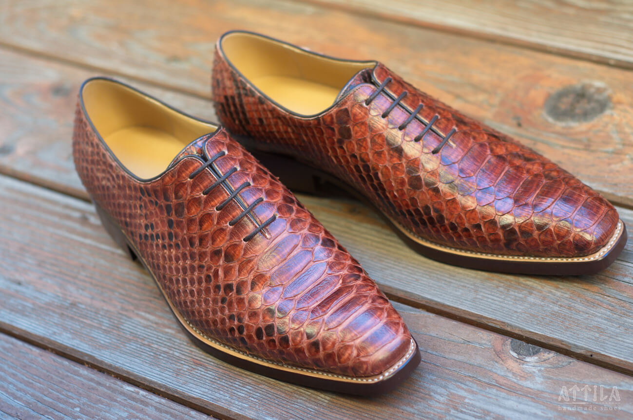 23. Snake shoes