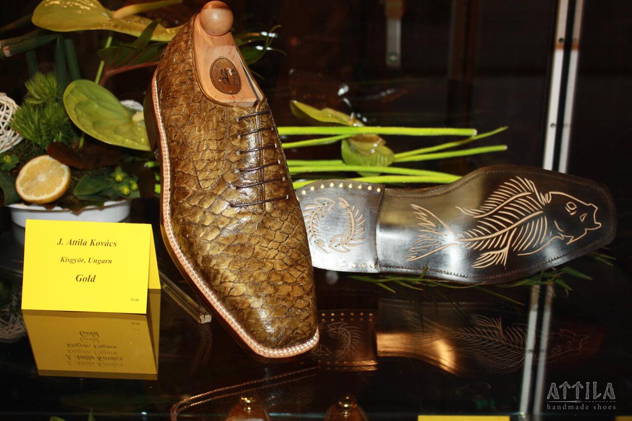 Golden award 2010 | Fish shoes