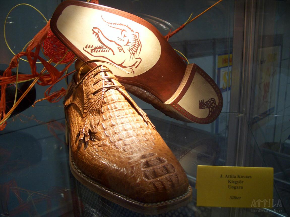 Silver award 2007 | Crocodille shoes