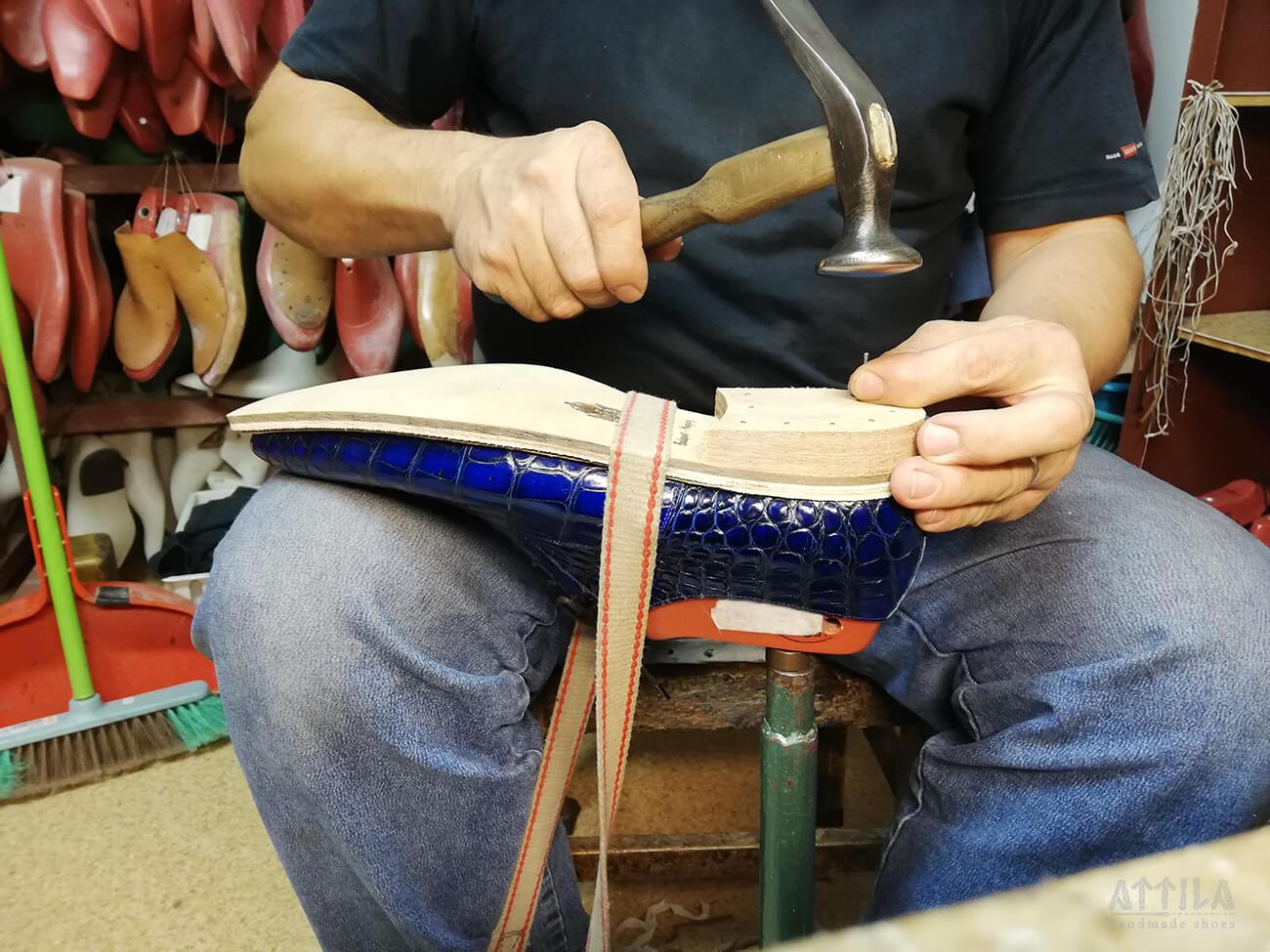 13. Saroképítés / Shoe heel construction